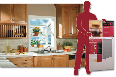 Kitchen Backsplash Kits dpi ez backsplash kit